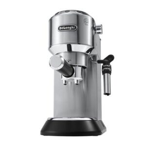"""Halfautomatische espressomachine Zilver """""""" van De'Longhi"""