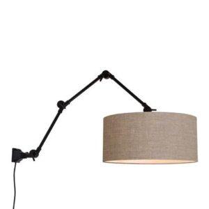 Wandlampen Bruin IJzer