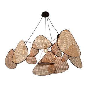 """Hanglampen Bruin """""""" van Market Set"""