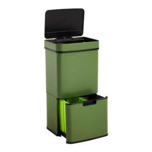 Sensor afvalemmer Groen RVS van Homra