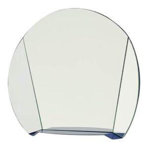 Spiegel Blauw Glas