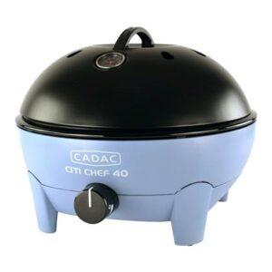 Gasbarbecue Blauw Kunststof