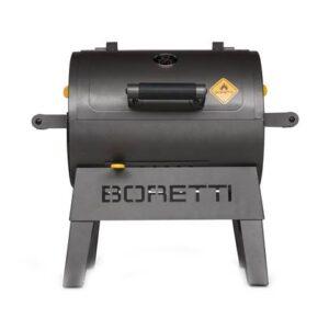 Houtskoolbarbecue Antraciet Staal van Boretti