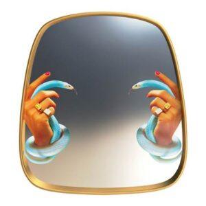 Spiegel Goud Glas