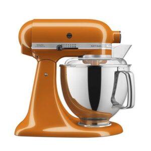 Keukenmixer Oranje Metaal van KitchenAid