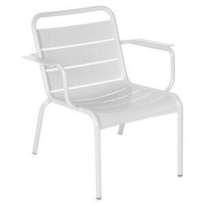 Lounger Wit Aluminium van Fermob
