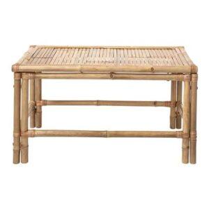 Bijzettafel Beige Bamboe van Bloomingville