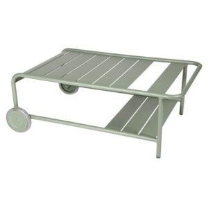 Buiten bijzettafel Groen Aluminium van Fermob