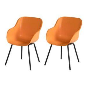 Dining stoel Oranje Kunststof van Hartman