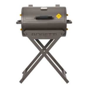 Houtskoolbarbecue Grijs Staal van Boretti