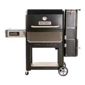 Houtskoolbarbecue Zwart Staal van Masterbuilt