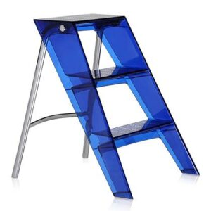 Huishoudtrap Blauw Kunststof van Kartell
