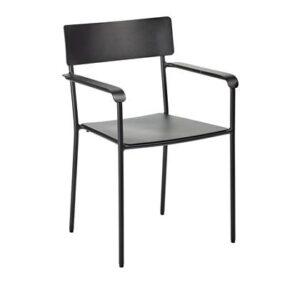 Dining stoel Zwart Aluminium van Serax
