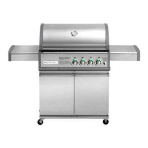Elektrische barbecue Grijs RVS van Crossray