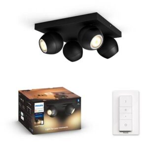 LED-verlichting Zwart Metaal van Philips Hue