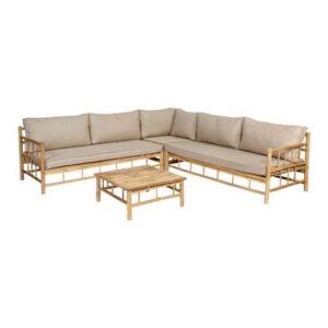 Loungeset Beige Bamboe van Exotan
