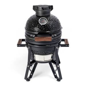 Keramische barbecue Zwart Keramiek van The Bastard