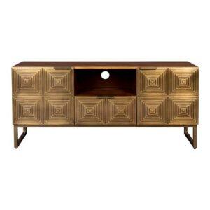 Tv-meubel Bruin Hout van Dutchbone
