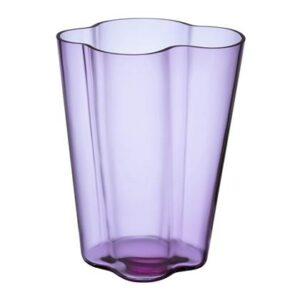 Vazen Paars Glas van Iittala
