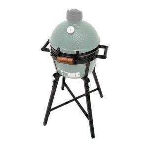 Barbecue uitbreiding Zwart Staal van Big Green Egg