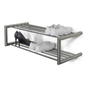 Schoenenrek Zilver RVS van Spinder Design