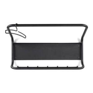 Wandkapstok Zwart Staal van Torna Design