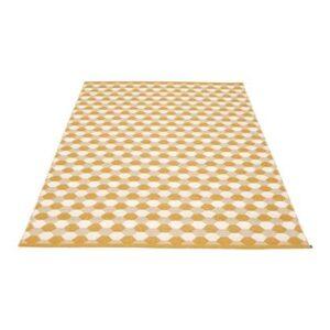 Buiten vloerkleed Geel Polyester